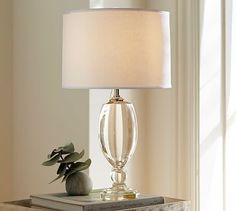 Lexington Crystal Table Lamp Base #potterybarn