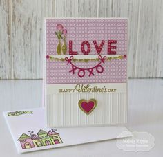 Taylored Expressions December Sneak Peeks Day 3 - Valentine's Day Handmade Valentine #tayloredexpressions