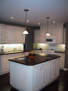 Kitchen Ideas: Kitchen Island Lighting Ideas with Ductless Range Hood also Sink Countertop plus Cabinets and Kitchen Island Ikea