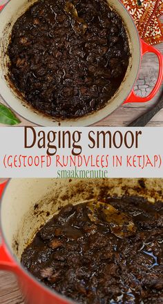 Daging smoor #recept #recipe #indonesia