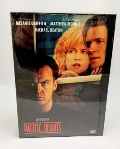 Pacific Heights (DVD, 1999)- Matthew Modine, Michael Keaton, Melanie Griffith