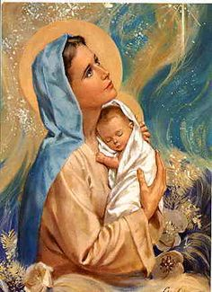 's photos on Photobucket. Mother Mary Images, Images Of Mary, Pictures Of Mary, Jesus Christ Painting, Jesus Art, Blessed Mother Mary, Blessed Virgin Mary, Jesus Photo, Vintage Holy Cards