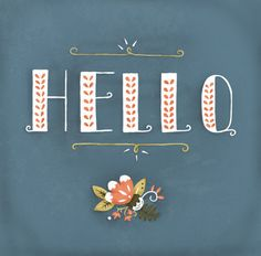 hello by Katie Evans