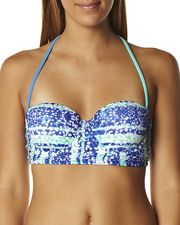 HEAVEN WALL PAPER BUSTIER SEPARATE TOP - MULTI on http://www.surfstitch.com