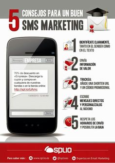 5 consejos para un buen sms #marketing