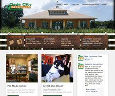 Dade City Animal Clinic #HealthyPet #veterinary #webdesign