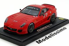 Ferrari 599 XX, Homestead Miami 2010, No.77, rot. BBR, 1/18, No.P1821, Limited Edition 100 pcs. 300€