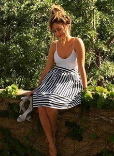 High Seas Skirt by Maeve #anthrofave #anthropologie