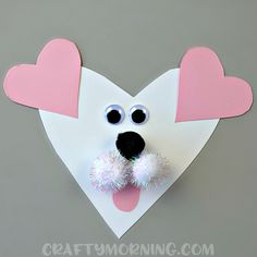 Valentine's Day is so fun because you get to make crafts with kids! Not only are you being creative, but kids can learn about shapes such as the heart! Here is a list of heart-shaped animal crafts that you can make this holiday. Just click on the photo or link below it to get the …