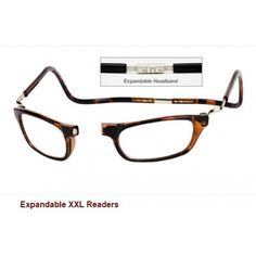 9fb748f288e The original Clic reading frames Vision are offered in a large XXL version