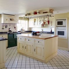 Kitchen | Country cottage in Cheshire | Country Homes & Interiors | House Tour