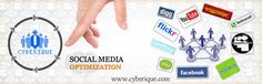 #SMO #Services - #Cyberique is  Social Media Optimization company. We offer SMO services that boost your visitors through social networks worldwide... See more: http://www.cyberique.com/smo-service.php