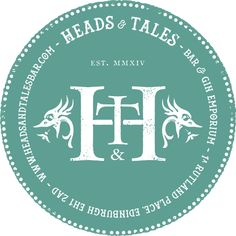 WELCOME TO HEADS & TALES... Welcome to Heads & Tales – Edinburgh's hidden gem. Using the best spirits, beers, soft drinks and wines that we can find; along with local, seasonal, fresh products – quality is of utmost importance to us so come and experiment with gin in Edinburgh's West End. Nestled
