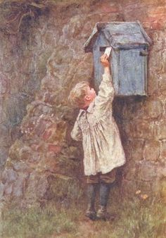 Her Majesty's Post Office-Helen Allingham