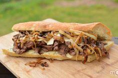 The most delicious steak sandwich ever.