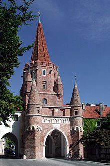 Kreuztor/Cross Gate, Ingolstadt, Bavaria, Germany