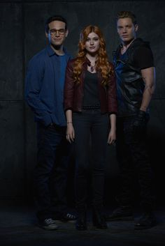 Simon, Clary and Jace Promo Shadowhunters Season 1