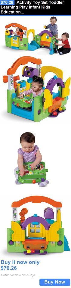baby kid stuff: Activity Toy Set Toddler Learning Play Infant Kids Educational Development New BUY IT NOW ONLY: $70.26