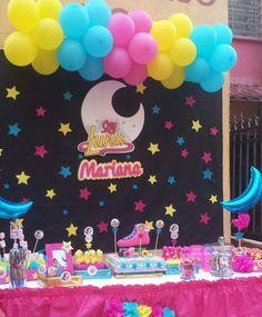 Resultado de imagen para soy luna fiesta Roller Skating Party, Skate Party, Soy Luna Cake, Deco Cupcake, Birthday Room Decorations, Personalized Cookies, Kids Party Themes, Ideas Para Fiestas, Son Luna