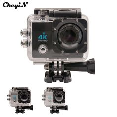 16MP Ultra HD 4K Wifi Extreme Sports Camera 1080P Waterproof Diving Camera 170D Lens Action Cam 2.0'' Screen Mini Sport DV -4647