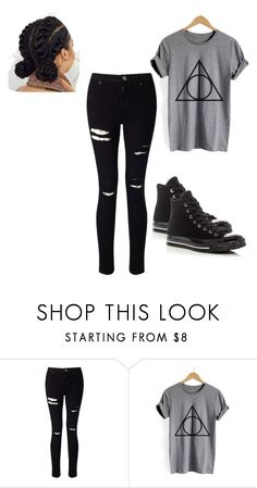 """""""Untitled #145"""" by princesscouture1229 on Polyvore featuring Miss Selfridge and Converse"""