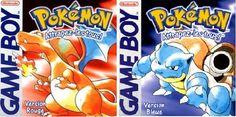 Pokemon Rouge et Bleu Game Boy