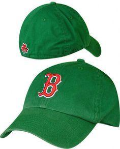 boston red sox hat baseball cap st. patricks day green