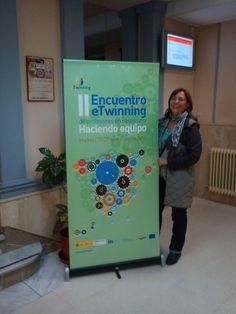 2012 Margarita Gentil (IES Luis de Camoens) en II Encuentro eTwinning de profesores en castellano 'Haciendo equipo'