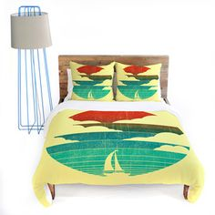 Sail Away Duvet Cover Queen, $189, now featured on Fab.