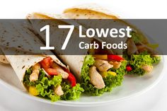 17 Lowest carb foods