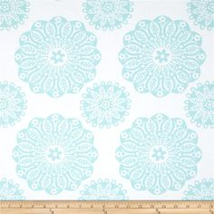 Michael Miller Whisper Miriam Aqua from @fabricdotcom  Designed for Michael Miller, this cotton print fabric is perfect for quilting, apparel and home decor accents. Colors include aqua and white.
