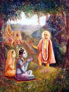 Mahaprabhu Meets Lord Siva