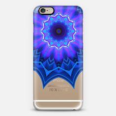 Blue Fire Mandala - New Standard Case
