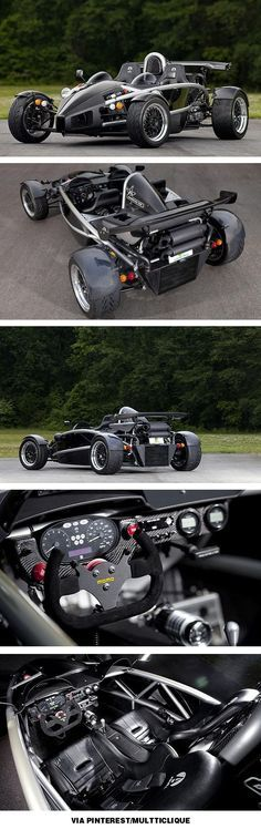 Ariel Atom is street legal. Don't believe the $200K sticker price; they are available for only $40-50K. (sigh)