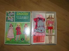 Skooter Cut 'n Button Costumes NRFB