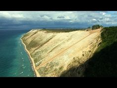 Aerial America - On the Shores of the Great Lakes.......Sleeping Bear Dunes.