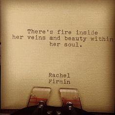 Fire by Rachel Firmin