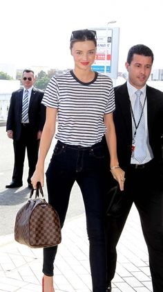 High flyer: the best celebrity airport style - Vogue Australia