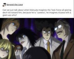 Tags: Death Note Tumblr, Matsuda