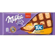 Milka Tuc Cracker 87g, Chocolate Bar Limited Edition