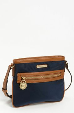 MICHAEL Michael Kors 'Kempton' Crossbody Bag from Nordstrom. Saved to Accessories. Michael Khors, Sporty Chic, Daily Fashion, Spring Summer Fashion, Crossbody Bag, Nordstrom, Handbags, Purses, My Style
