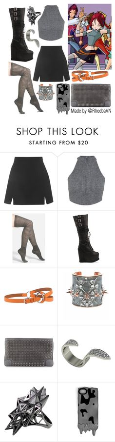 """""""Mirta 1 (Winx)"""" by rheebavn ❤ liked on Polyvore featuring Topshop, Miss Selfridge, Vince Camuto, Jeffrey Campbell, Ralph Lauren Black Label, Bijoux de Famille, Christian Louboutin, John Brevard and Marc by Marc Jacobs"""