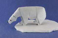 Polar Bear | 22 Delightfully Crafty Origami Wild Animals