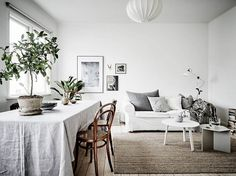 A Perfect Apartment to Lounge Around - NordicDesign