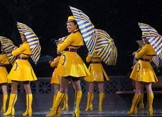 """The epic """"Singin' in the Rain"""" tap number from last year's Spring Spectacular (photo by Dan Niver via NewYork.com)"""