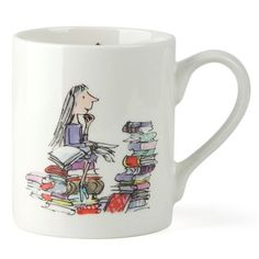 For Book Lovers // Peter's of Kensington I Roald Dahl - Matilda Mug $13.00