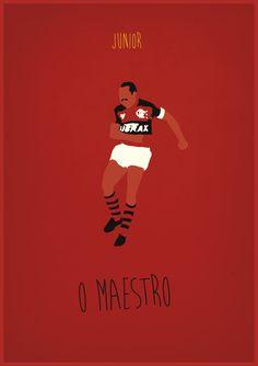 (+) Pôsteres minimalistas relembram o Flamengo de 81