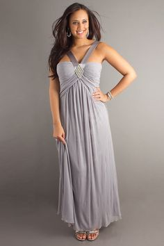 Belle robe de soiree longue grande taille