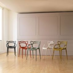 I am drawn to these chairs every time I see them. Not really 'natural materials' but I just really like the pattern of the back Kartell Masters Chair By Philippe Starck Design Furniture, Plywood Furniture, Chair Design, Furniture Removal, Modern Furniture, Interior Exterior, Best Interior, Interior Design, Kitchen Chairs