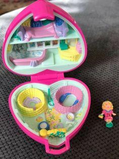 Silly Spinner Muñecas Y Accesorios Polly Pocket Nuevo En Caja Vintage Polly Bolsillo Fun Fair Set De Juego